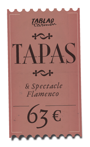 Tapas et flamenco au Tablao de Carmen