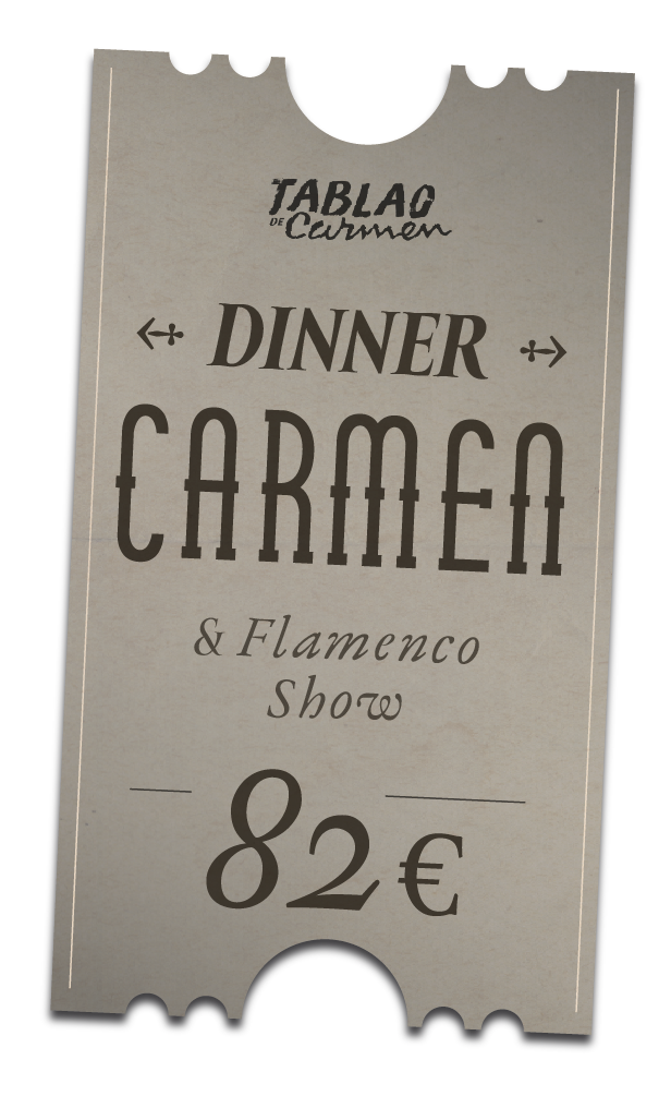 Carmen Flamenco Dinner